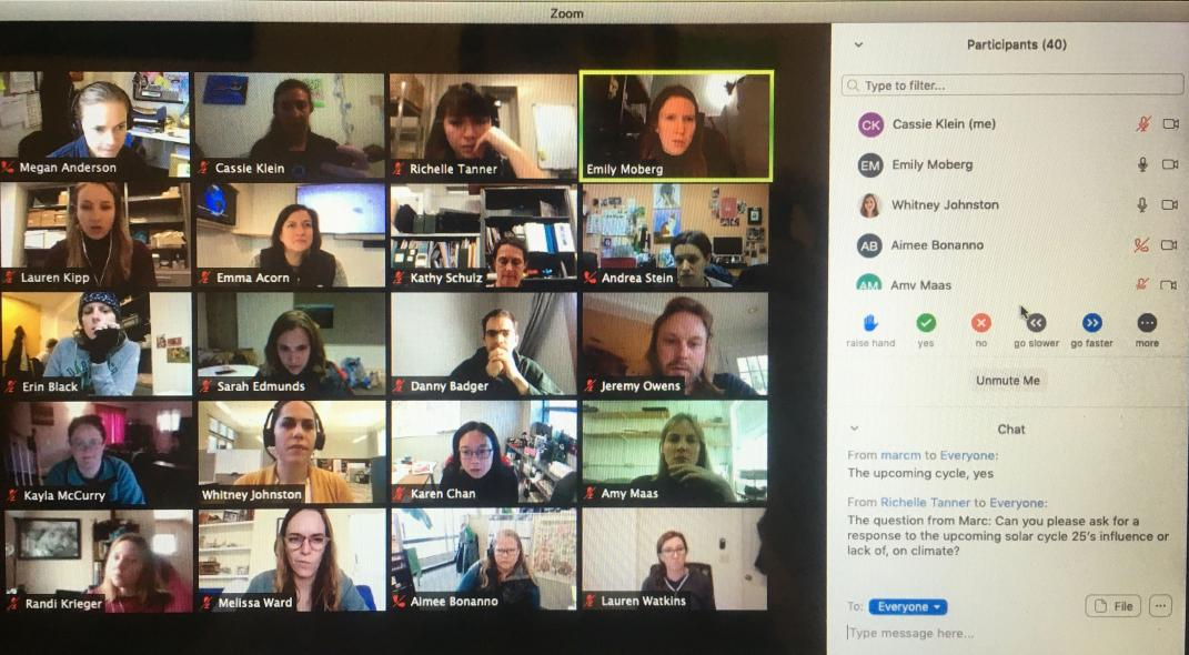 "Screenshot of the ""Ask a Scientist"" Session from the NNOCCI Virtual Conference 2020"