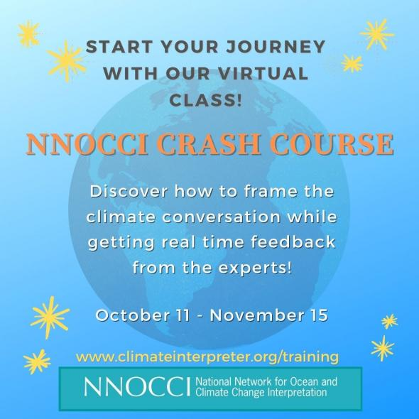 Flier announcing the Fall Crash Course